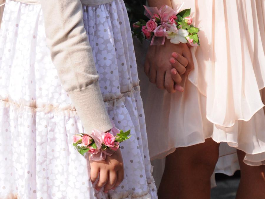 23-02-2020 Bridy bouquet Bracciale Coroncina da sposa e damigella