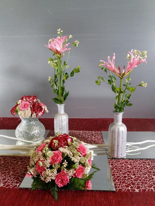 15-03-2020 Tecnica base 1 Bouquet e addobbo tavola pranzo stile formale